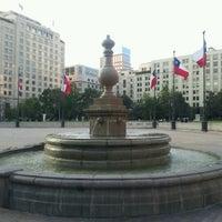 Photo taken at Plaza de la Constitución by Luis E. on 11/21/2012