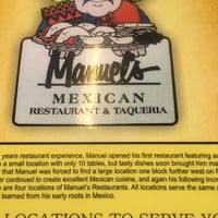 Photo taken at Manuel's Mexican Restaurant by Jeffrey M. on 10/11/2016