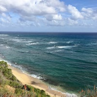 Photo taken at Amelia Earhart marker at Diamond Head Lookout by Naoko F. on 11/1/2016