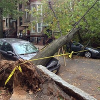 Photo taken at Frankenstorm Apocalypse - Hurricane Sandy by Rick H. on 10/31/2012