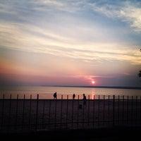 Photo taken at Sylvan Beach NY by Sarah R. on 6/25/2013