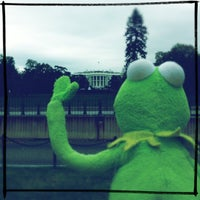 Photo taken at The White House Southeast Gate by Mappela R. on 10/28/2012