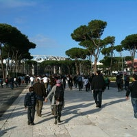 Photo taken at Foro Italico by Francesca F. on 11/17/2012