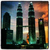 Photo taken at Kuala Lumpur City Centre (KLCC) Park by Dan M. on 10/9/2012