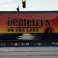 Photo taken at Demetri's on the Lake by Frederick D. on 3/14/2012