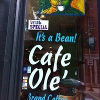 Photo taken at Cafe Ole by Adrián E. on 8/18/2012