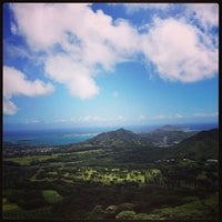 Photo taken at Nuʻuanu Pali Lookout by Shawn M. on 6/17/2013