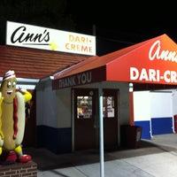 Photo taken at Ann's Dari-Creme by Ian H. on 10/7/2012
