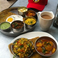Photo taken at Pondicheri by Linda J. on 5/19/2013