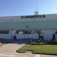 Photo taken at Aeroporto Internacional de Florianópolis / Hercílio Luz (FLN) by Bruno A. on 3/24/2013