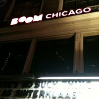 Photo taken at Boom Chicago by Gerard H. on 11/30/2012