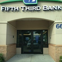 Photo taken at Fifth Third Bank & ATM by Debbie G. on 3/29/2014