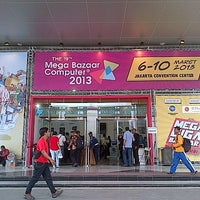 Photo taken at Jakarta Convention Center (JCC) by beng r. on 3/6/2013
