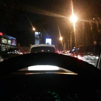 Photo taken at Jalan Sultan Iskandar Muda (Arteri Pondok Indah) by Ari W. on 7/11/2014
