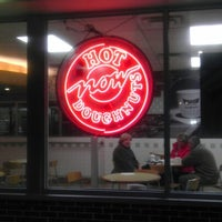 Photo taken at Krispy Kreme Doughnuts by Anthony on 11/9/2012