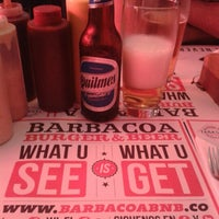 Photo taken at Barbacoa Burger & Beer by Milena M. on 1/11/2013