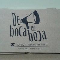 Photo taken at de boca en boca delibery by Sebastian L. on 9/27/2012