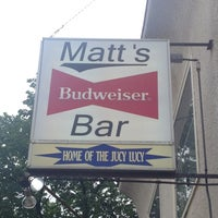 Photo taken at Matt's Bar by Nicole C. on 6/22/2013