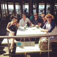 Photo taken at Aristos Waterfront Rottnest Fish Cafe by Leah H. on 4/6/2014