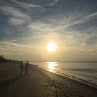 Photo taken at Wasaga Beach by Matea L. on 11/18/2016