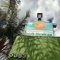 Photo taken at Tacos Baja Ensenada by Sal L. on 4/2/2014