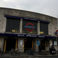 Photo taken at South Wimbledon London Underground Station by Ben M. on 10/25/2016