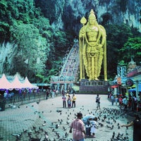 Photo taken at Batu Caves by Cahya Y. R. on 4/8/2013