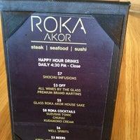 Photo taken at Roka Akor | Scottsdale by Vishal M. on 7/12/2013