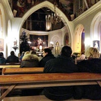 Photo taken at Sv. Marijas Magdalēnas baznīca by Kaspars T. on 12/25/2013