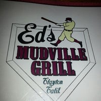 Photo taken at Ed's Mudville Grill by John G. on 8/31/2013