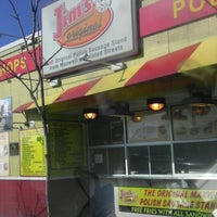 Photo taken at Jim's Original Hot Dog by Tywond H. on 3/19/2013