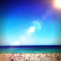 Photo taken at Bondi Beach by Aldric T. on 1/5/2013