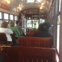 Photo taken at St. Charles Streetcar by Christopher L. on 2/4/2013