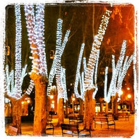 Photo taken at Plaza de la Cruz by Javier A. on 12/19/2013