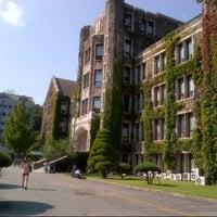 Photo taken at Yonsei University by Steven H. on 9/24/2012
