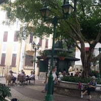 Photo taken at Largo do Lilau / Lilau Square 亞婆井前地 by Pam C. on 6/17/2014