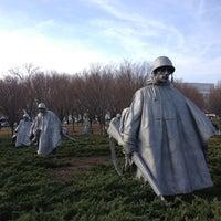 Photo taken at Korean War Veterans Memorial by Erik J. on 1/12/2013