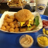Photo taken at Charm City Burger Company by Cara P. on 12/1/2012