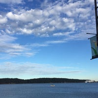 Photo taken at Departure Bay Beach by Charlotte K. on 7/25/2016