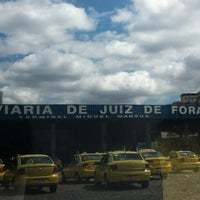 Photo taken at Terminal Rodoviário Miguel Mansur by Andre M. on 3/15/2013