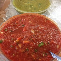 Photo taken at Taqueria Sanchez by Eric S. on 11/16/2012