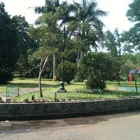 Photo taken at Taman Kencana by Dini I. on 10/19/2012