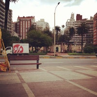 Photo taken at Plaza Gomensoro by Andrew T. on 10/23/2012