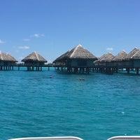 Photo taken at Le Méridien Bora Bora by Hiroki T. on 10/4/2016