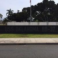 Photo taken at USS Oklahoma Memorial by Matthew E. on 5/3/2014