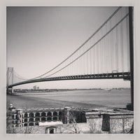 Photo taken at Fort Wadsworth by Dave and Amy J. on 4/27/2013