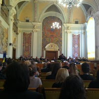 Photo taken at Universitatea Babeș-Bolyai by David🍹 on 3/13/2013