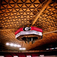 Photo taken at Stegeman Coliseum by Justin Y. on 10/11/2012