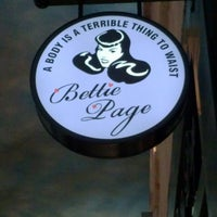 Photo taken at Bettie Page by Jessica A. on 4/6/2013