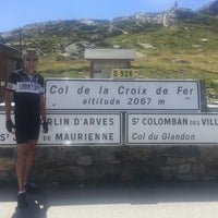 Photo taken at Col de la Croix De Fer by Anne H. on 8/8/2016